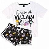 Women's Disney Villains Original Witch Shortie Pajama Set