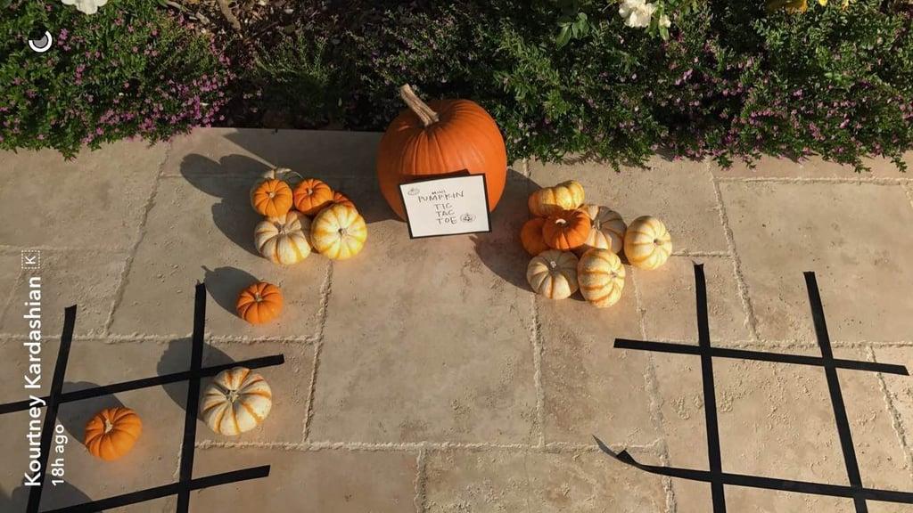 Kourtney Kardashian Halloween Decorations
