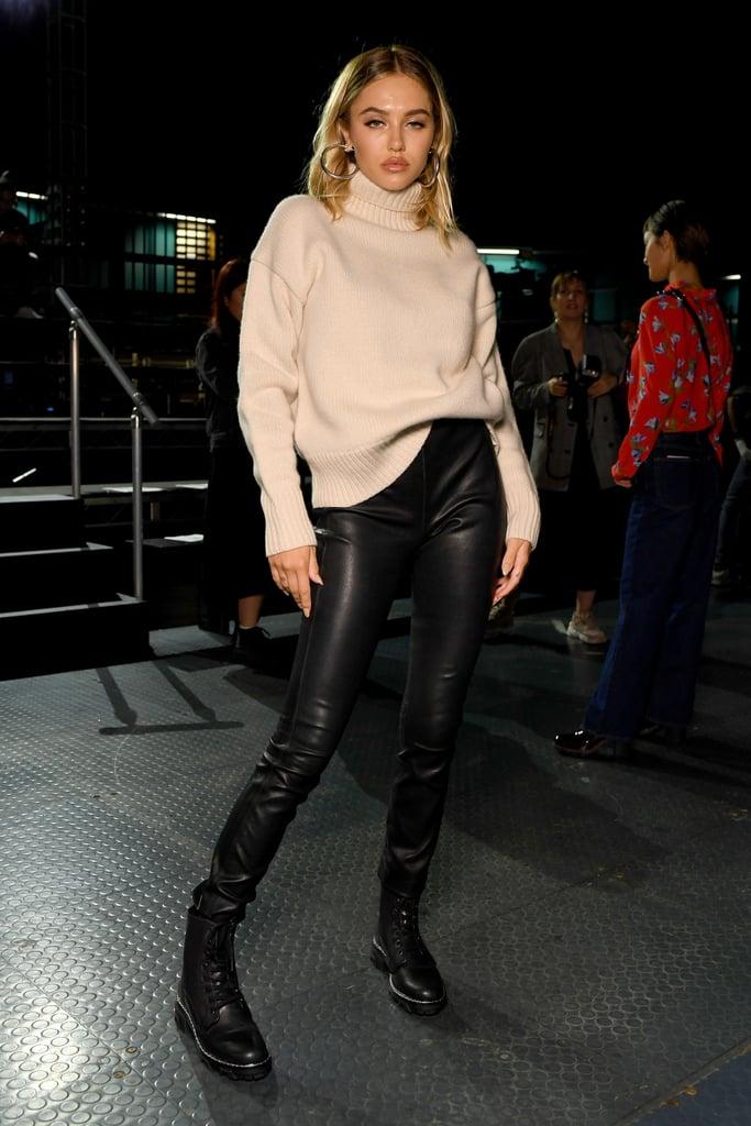 Delilah Belle Hamlin at the Rag & Bone New York Fashion Week Show