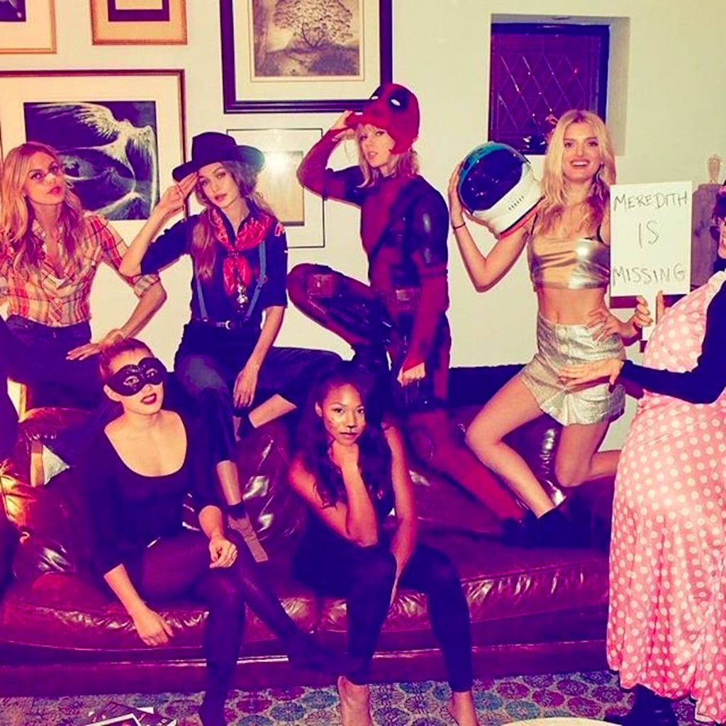 taylor swift halloween party pictures 2016 popsugar celebrity - What Was Taylor Swift For Halloween