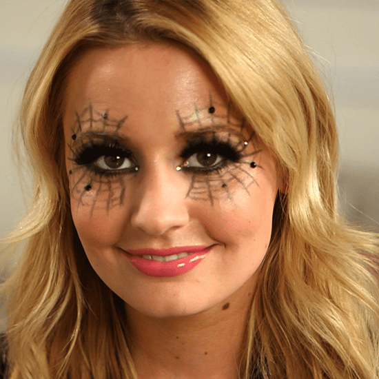 Spiderweb Makeup For Halloween | POPSUGAR Beauty