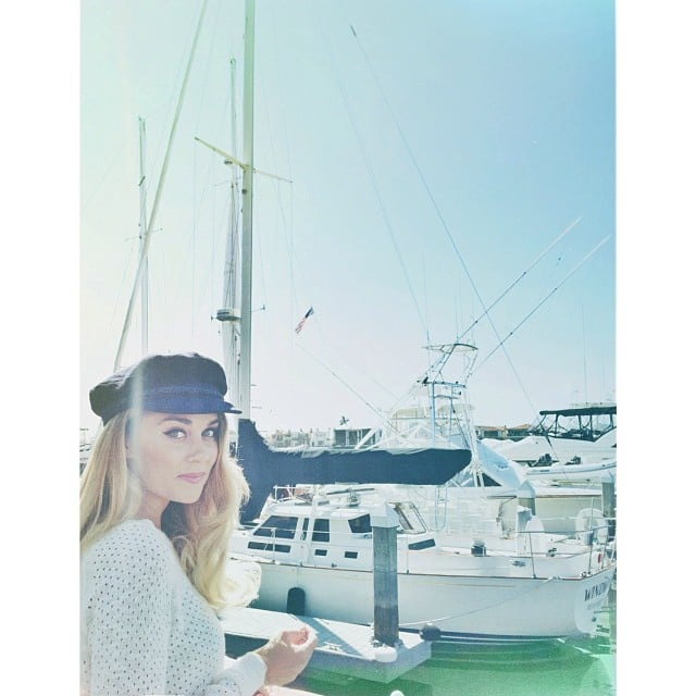Lauren Conrad made an adorable ship captain. Source: Instagram user kristin_ess