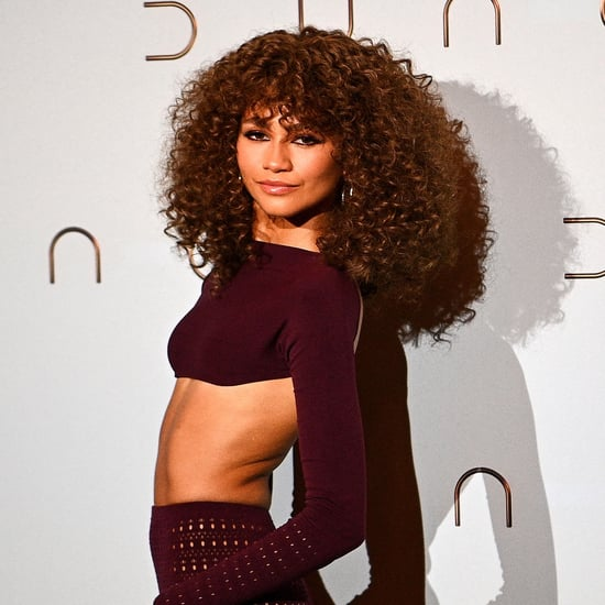 Zendaya Debuted a Curly Shag Haircut on Red Carpet
