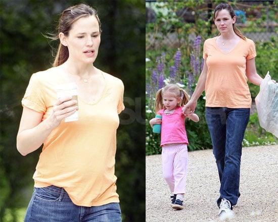 Jen and Violet Walk the Park