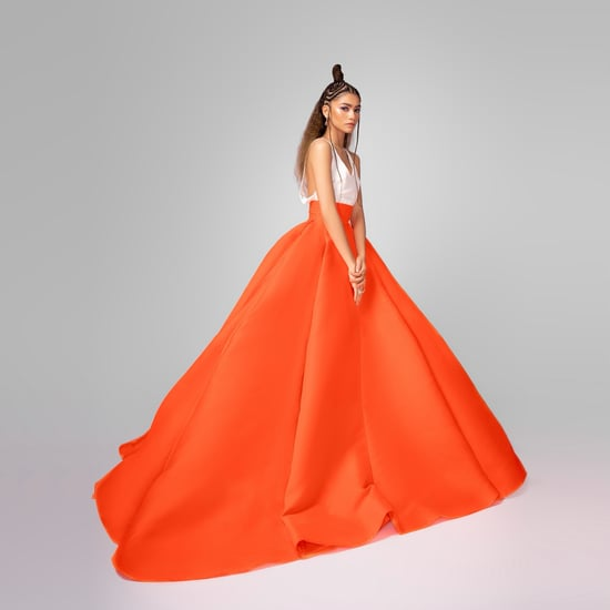 Zendaya's Valentino Skirt at the 2021 Critics' Choice Awards