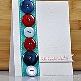 Embellish a Birthday Card