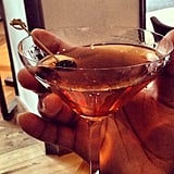You can take us out of Manhattan, but you can't take a Manhattan out of our hands.