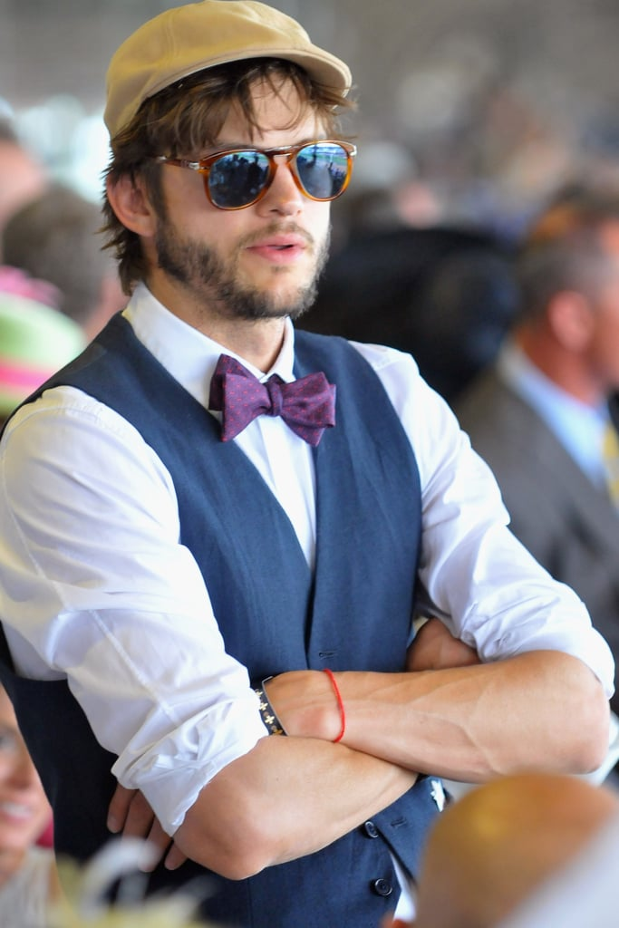 Ashton Kutcher was dressed to the nines for the 2012 event.