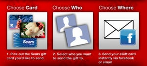 eGift Cards Through Facebook, Sears, and Kmart