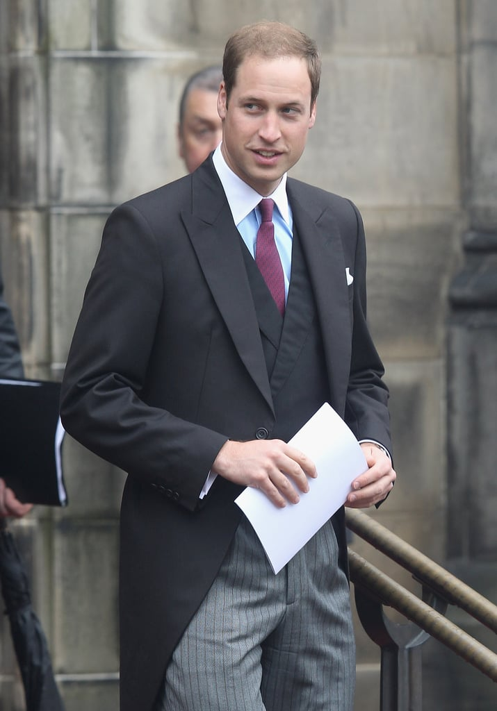 Prince William attended the Thistle Ceremony in Scotland.