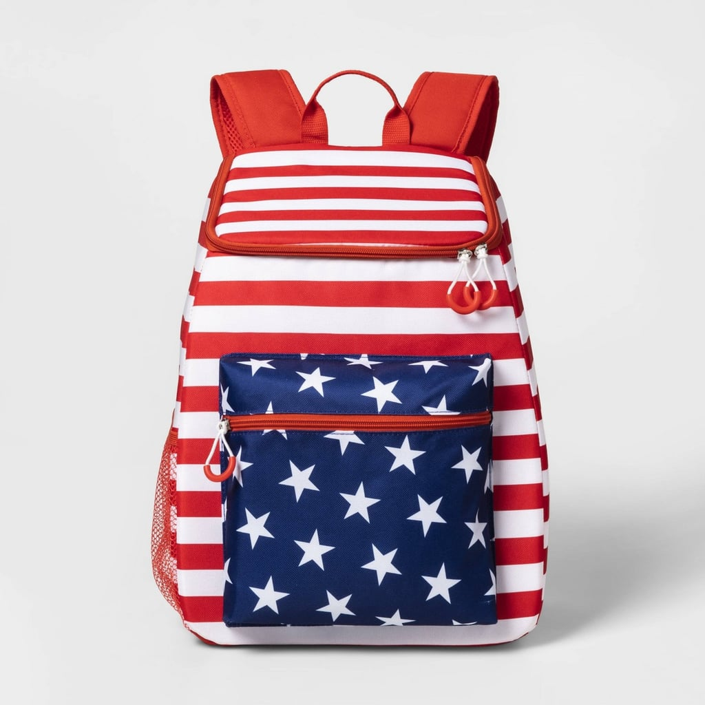 Sun Squad Backpack Cooler in Americana