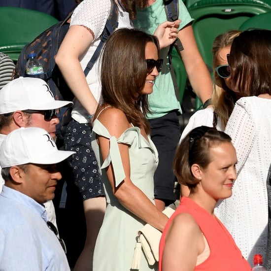 Pippa Middleton Tephi Dress at Wimbledon