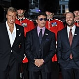 Pictures From Expendables London Premiere