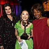 Idina Menzel, Lulu Wang, and Alfre Woodard at the 2020 Spirit Awards