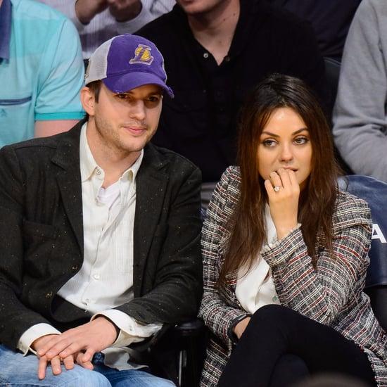 Mila Kunis and Ashton Kutcher Don't Give Christmas Presents