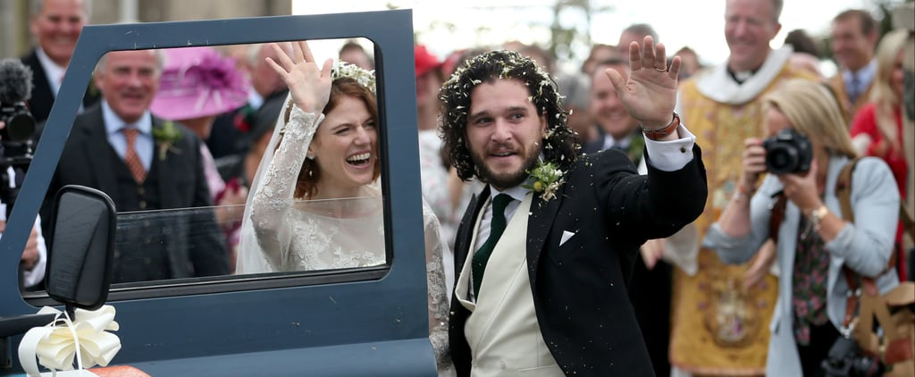 Reactions to Kit Harington and Rose Leslie's Wedding