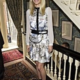 Gwyneth Paltrow wore a Prabal Gurung dress and Tom Ford heels for Goop's Summer party.