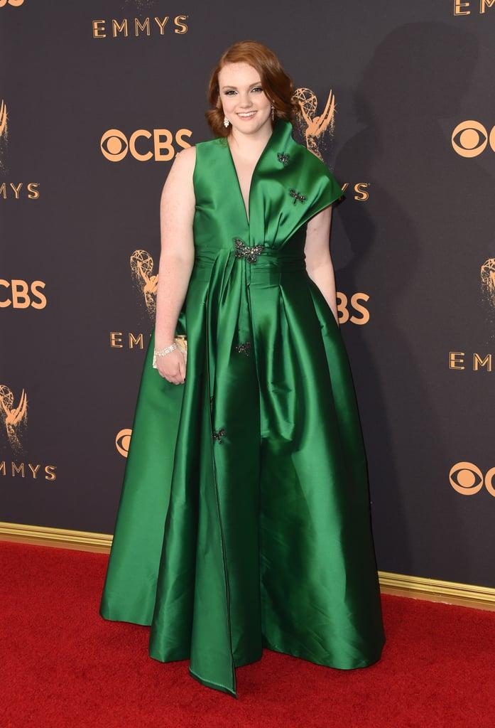 Shannon Purser Emmys Red Carpet Dresses 2017 Popsugar