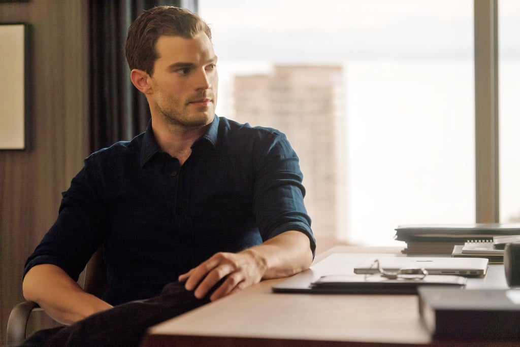 Here he is in Fifty Shades Darker.