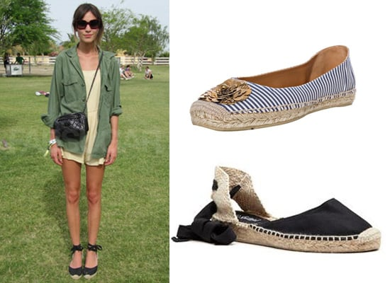 Buy Your Very Own Alexa Chung Inspired Espadrilles!