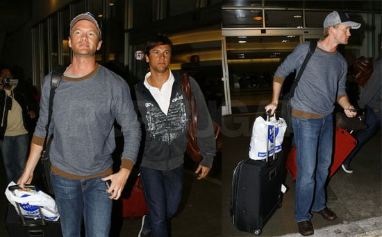 NPH and David Return to LA a Few Shades Darker