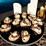 Braised Short Rib Crostini With Remoulade