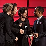 One Direction and John Legend
