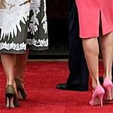 Melania Trump Valentino Dress 2018
