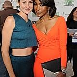 Shailene hung out with Angela Bassett.