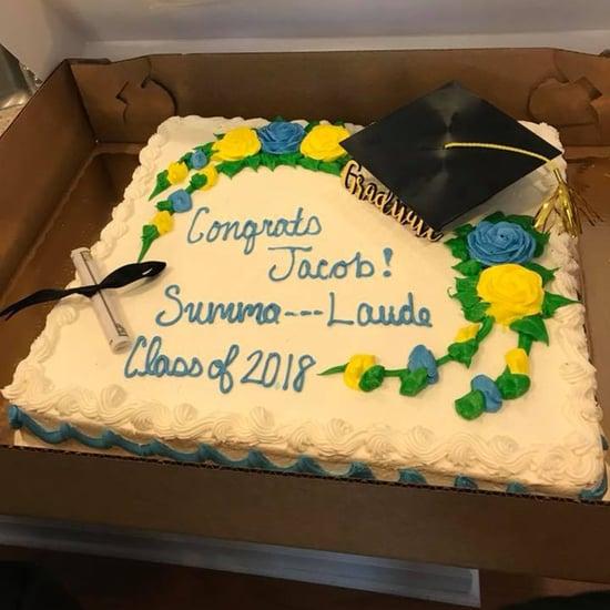 Publix Censors Graduation Cake 2018