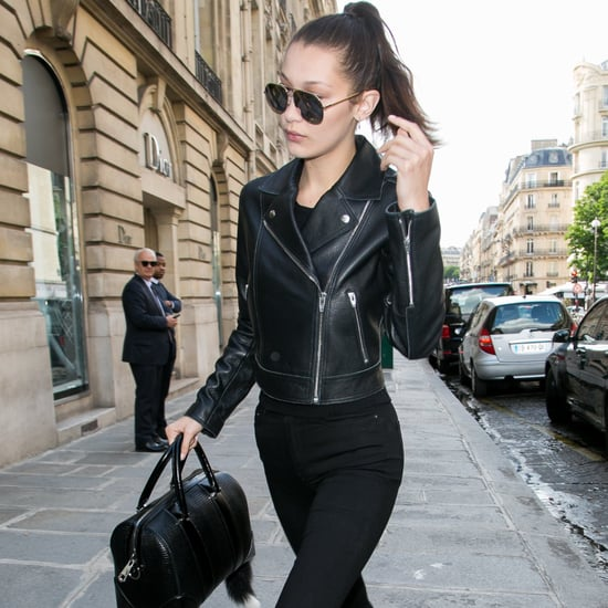Models Wearing All-Black Outfits