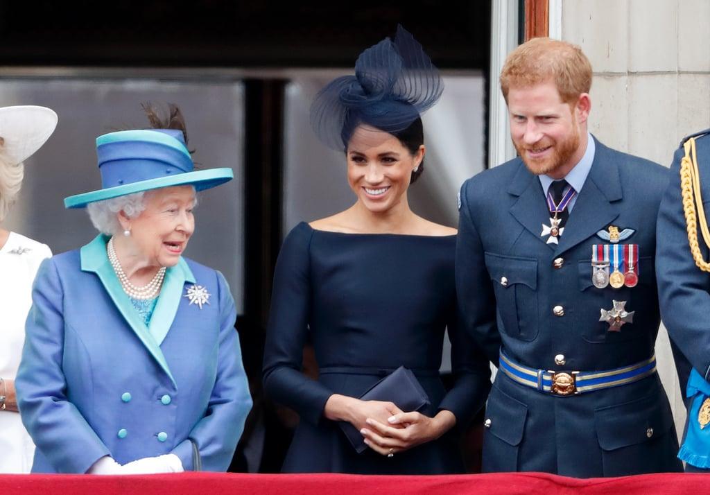 Prince Harry and Queen Elizabeth II Pictures