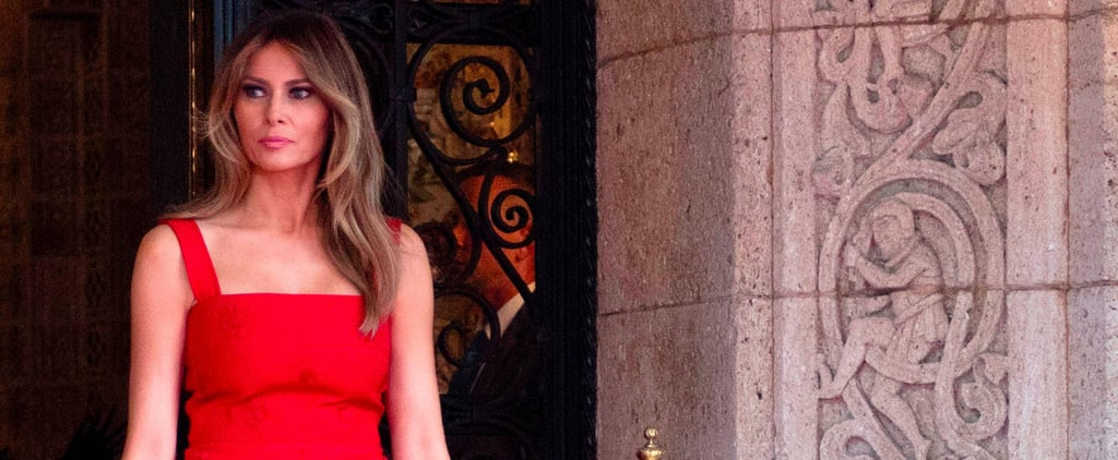 Melania Trump Met China's President in a Red Dress Worth Talking About