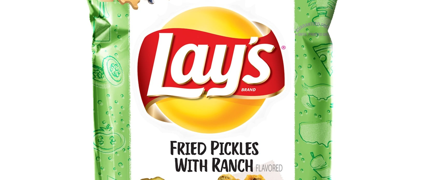 Lay's Fried Pickles With Ranch Chips 2019