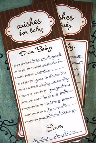 Baby Shower Games For Husband And Wife ~ Heirloom baby shower games and activities popsugar moms