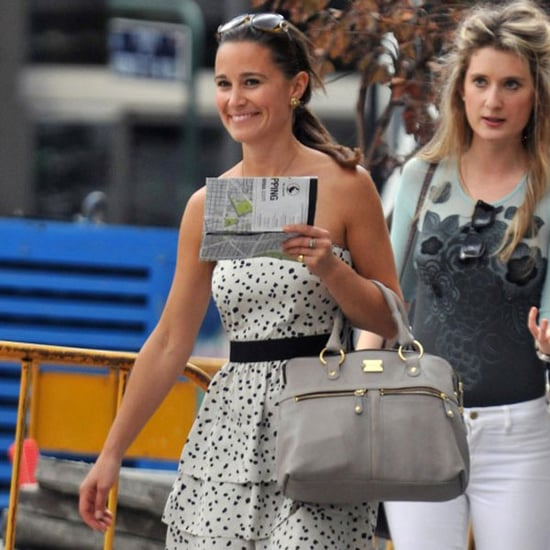 Pictures of Pippa Middleton in Madrid