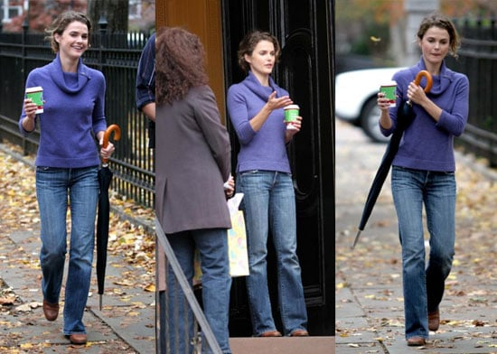 Keri Russell in the Park