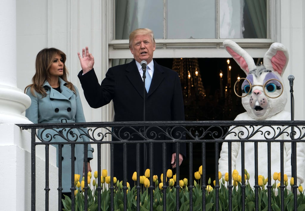 Trump's Speech at the White House Easter Egg Roll 2018 Video