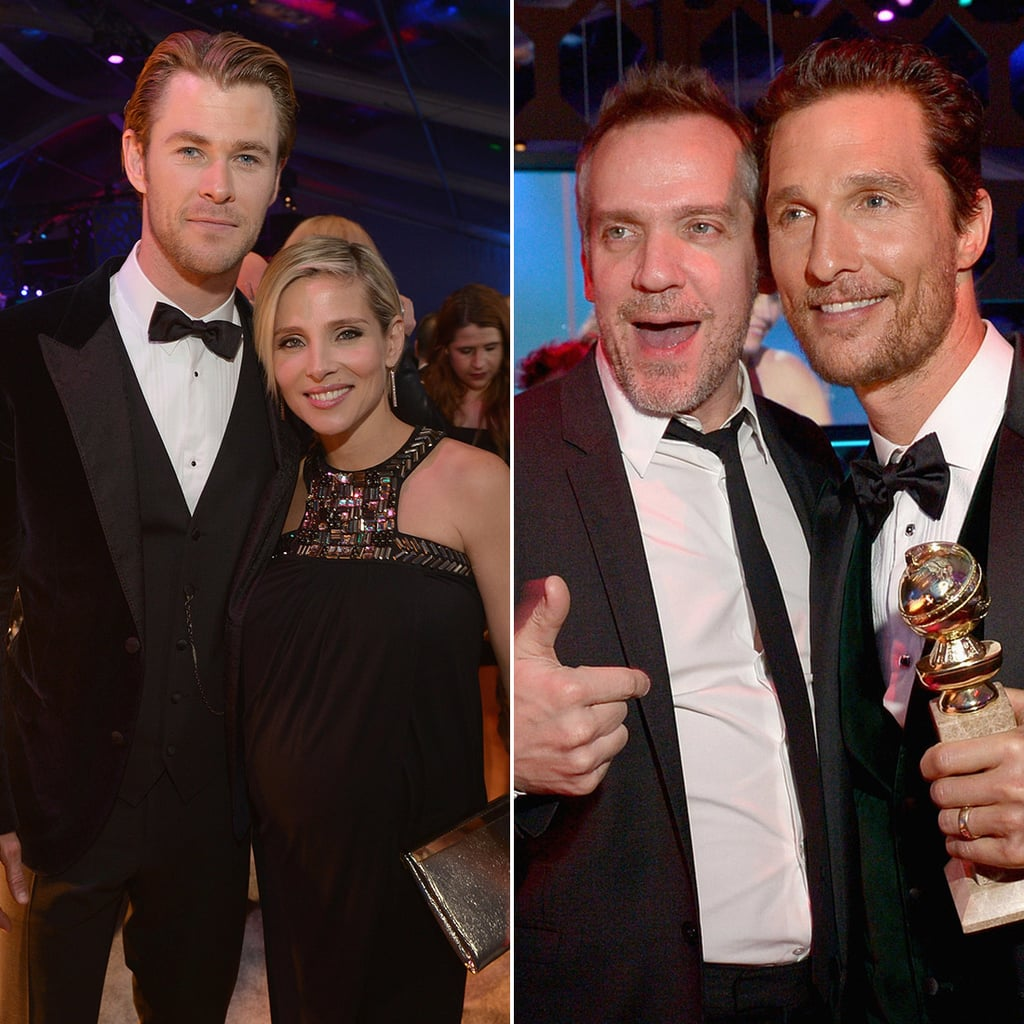 Celebrities at NBCUniversal 2014 Golden Globes After Party