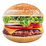 Inflatable Hamburger Island Pool Float
