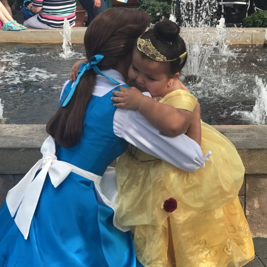 Girl With Dwarfism Meets Belle