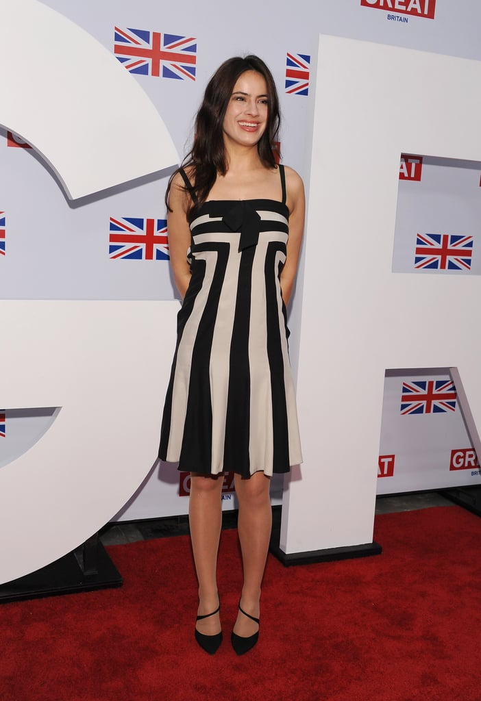Sophie Winkleman at the Great British Film Reception in February 2012