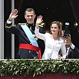 Coronation Letizia