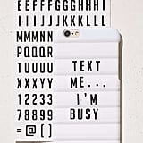 DIY Letterboard iPhone Case ($24)