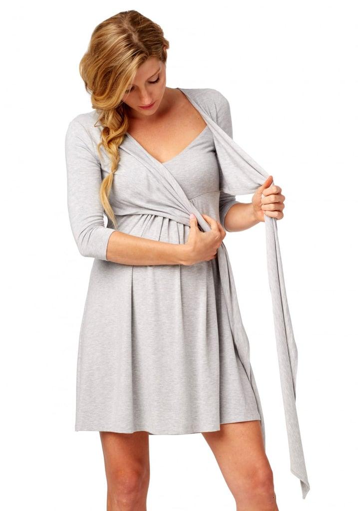 Rosie Pope Nursing Wrap Dress