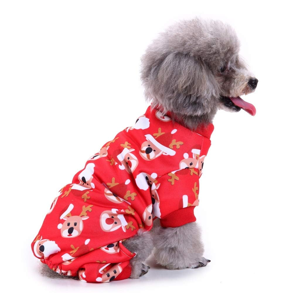 Christmas Pajamas For Dog.Bwogue S Rudolph Reindeer Pajamas Cutest Dog Christmas