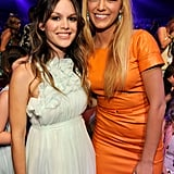 Blake Lively linked up with Rachel Bilson for the Teen Choice Awards in 2011.