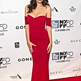 Emily Ratajkowski at the Gone Girl New York premiere.