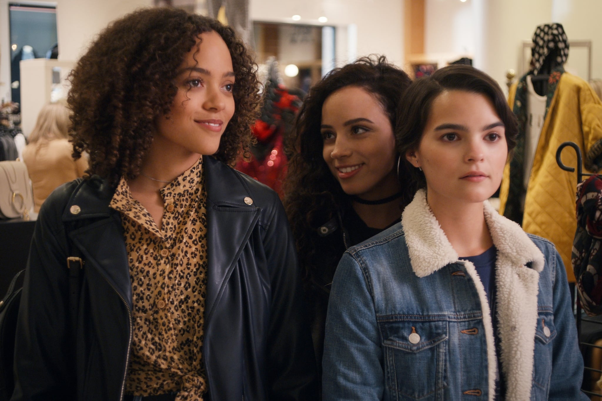 TRINKETS, from left: Quintessa Swindell, Kiana Madeira, Brianna Hildebrand, (Season 2, ep. 202, aired Aug. 25, 2020). photo: Netflix / Courtesy Everett Collection
