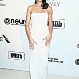 Adriana Lima at the 2019 Elton John AIDS Foundation Academy Oscars Party